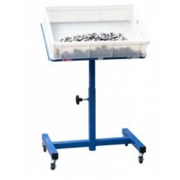 Pupitre d'atelier réglable capacité 50 kg idéal pour la production ou les chaînes de montage.