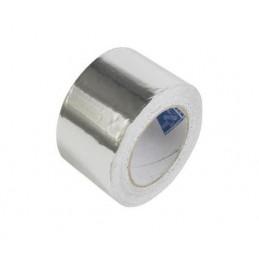 Ruban adhésif aluminium standard pour tubes frigorifiques.