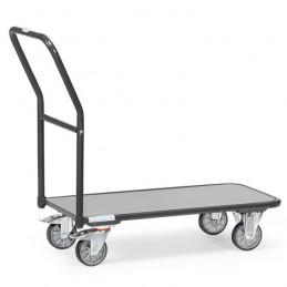 Chariot de magasin 250 kg gris