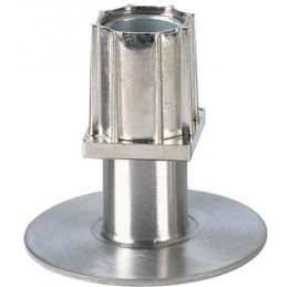 Vérin réglable 40x40 mm avec flange de 90 mm