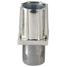 Vérin réglable 40 x 40 mm avec embout inox