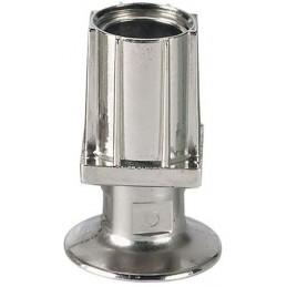 Vérin réglable pour tube carré de 40 x 40 mm