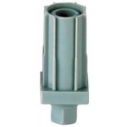 Vérin réglable pour tube 30 x 30 mm en composite