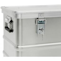 Serrure à clé pour caisse de stockage aluminium