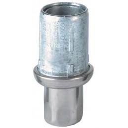 Vérin zamac pour tube rond de diamètre 38 mm avec embout inox