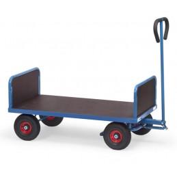 Remoque manuelle 500 kg avec deux ridelles