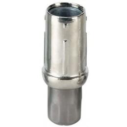 Vérin réglable pour tube rond de 40 mm avec embout inox
