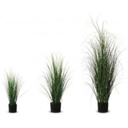Plante artificielle fagot d'herbe sur 3 hauteurs disponibles.