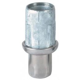 Vérin de diamètre 41 mm avec embout inox pour tubes ronds