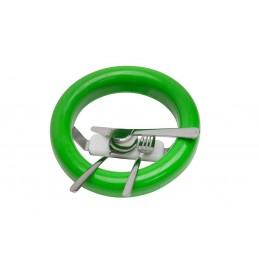 Joint de vide-ordures avec récupérateur de couverts couleur vert