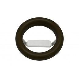Joint de vide-ordures avec récupérateur de couverts couleur noir