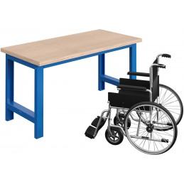 Etabli pour personnes à mobilité réduite avec plateau multiplis 40 mm