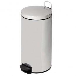 Poubelle 30 litres inox avec fermeture silencieuse