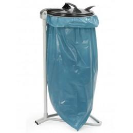 Support pour collecteur de déchets avec sac de 120 litres