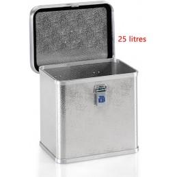 Caisse aluminium pour outils professionnels 25 litres.