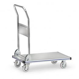 Chariot à plateaux alu capacité 150 kg