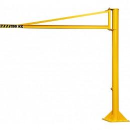 Potence sur fût triangulée hauteur 2500 mm