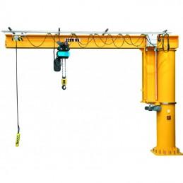 Potence sur fût à rotation totale hauteur 3 mètres