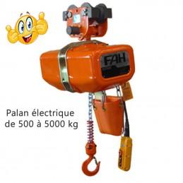 Palan électrique à chaîne 1 ou 2 vitesses ELEPHANT de chez PARSONS