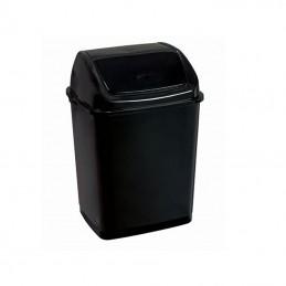 Poubelle 35 litres à couvercle basculant gamme BLACK