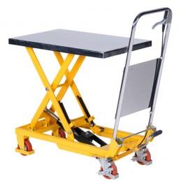 Table élévatrice 150 kg mobile à poignée repliable