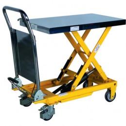 Table élévatrice 500 kg mobile à poignée fixe