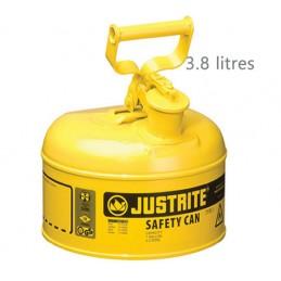 Récipient de sécurité pour liquides inflammables 3.8 litres