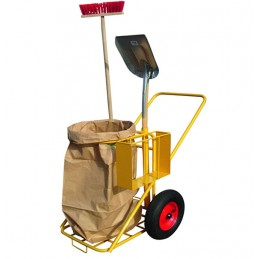 Chariot de nettoyage pour l'extérieur