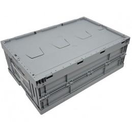 Bac pliable EURONORM 600x400x220 mm avec couvercle