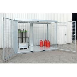 Box de stockage pour bouteilles de gaz TYPE GFC-E