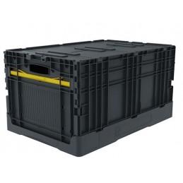 Bac pliable EURONORM 600x400x320 mm avec couvercle