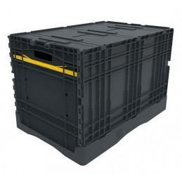 Bac pliable EURONORM 600x400x420 mm avec couvercle