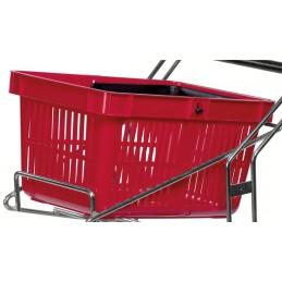 Panier spécifique chariot porte-paniers
