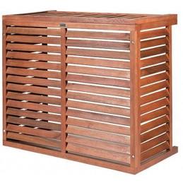 Cage de protection climatiseur 900 mm en bois traité