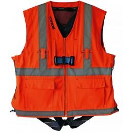 Harnais de sécurité HT22 avec veste réfléchissante orange