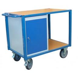 Servante d 'atelier avec un bloc porte capacité de 500 kg