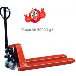 Transpalette manuel capacité 5000 kg