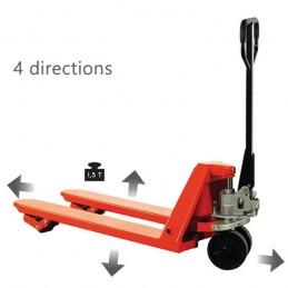 Transpalette manuel quatre directions 680 mm