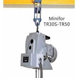 Treuil électrique MINIFOR avec boîte à boutons 300 et 500 kg