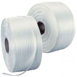 Bobine de feuillard textile blanc