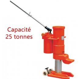 Cric 25 Tonnes hydraulique avec patte de levage