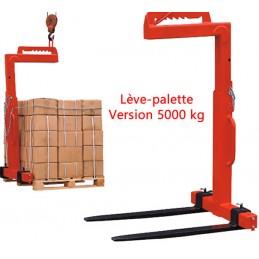 Lève-palette 5000 kg équilibrage manuel