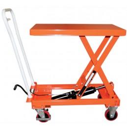 Table élévatrice 1000 kg manuelle mobile
