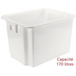 Bac euro gerbable 170 litres alimentaire