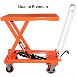 Table élévatrice manuel repliable 250 kg