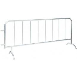 Barrière de protection à 8 barreaux longueur 2500 mm
