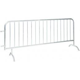 Barrière de protection à 17 barreaux longueur 2500 mm