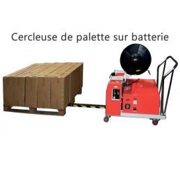 Cercleuse de palette sur batterie