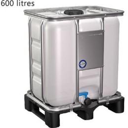 Conteneur IBC 600 litres sur palette plastique non UN