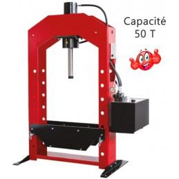 Presse hydraulique motorisée de précision 50 T